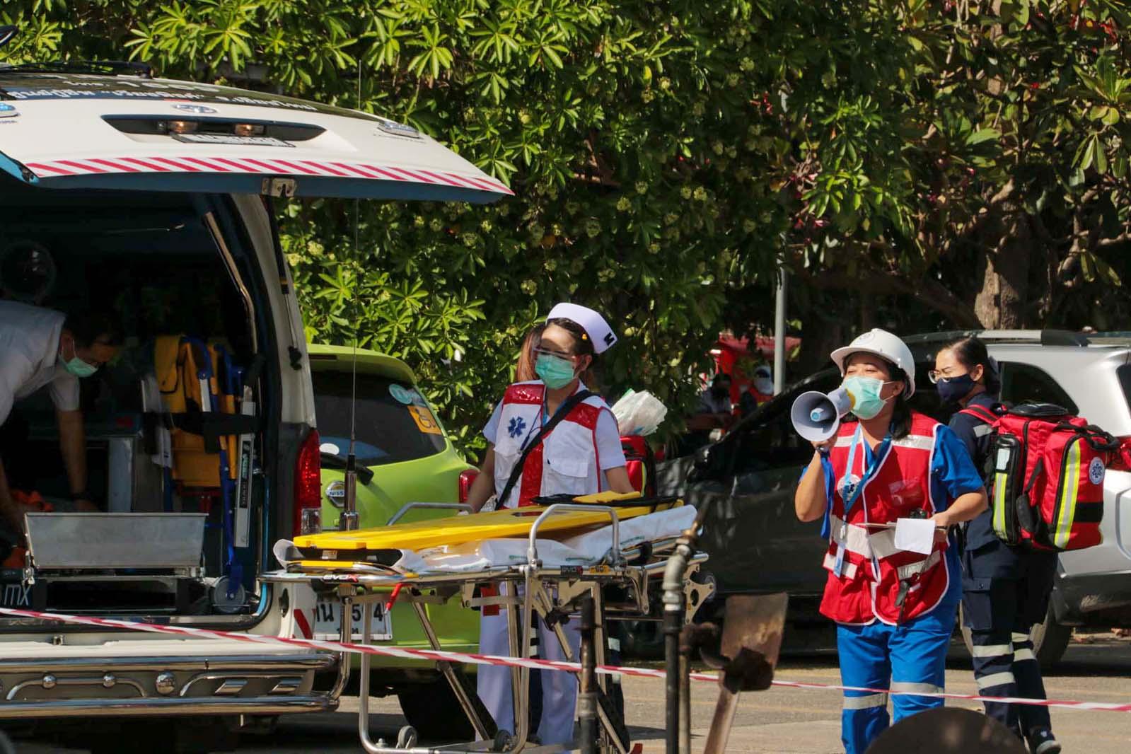 การฝึกซ้อมแผนรับอุบัติภัยหมู่ ประจำปี 2563 (2)